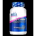 Haya Labs L-Lysine (L-Lizinas) 100kaps.