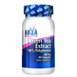 Haya Labs Green Tea Extract (žaliosios arbatos ekstraktas) 60 kaps.