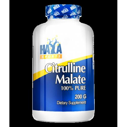 Haya Labs Citruline Malate 100% Pure 200 g ir maikutė dovanų