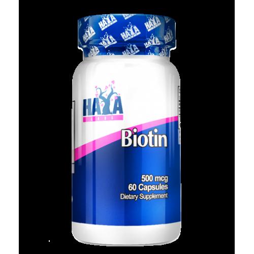 Haya Labs Biotinas 60 kaps.