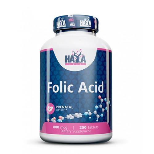 Haya Labs Folic Acid (folio rūgštis) 250 tabl.