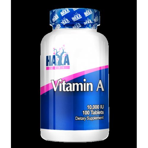 Haya Labs Vitaminas A 100 kaps.