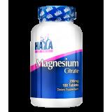 Haya Labs Magnesium Citrate (magnio citratas) 100 tabl.