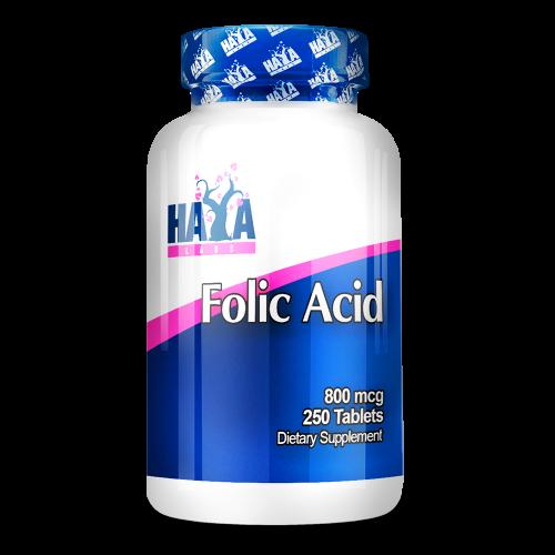 Haya Labs Folic Acid 250 tabl.