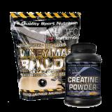 Hi Tec Whey Mass Builder 4500 g + Creatine Powder 250 g