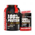 Nutrend 100% Whey Protein 2820g (už 2250g kainą)