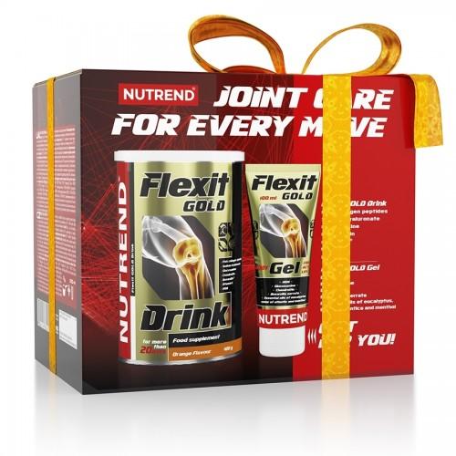 Nutrend Flexit Gold Drink 400g  ir gelis dovanų!