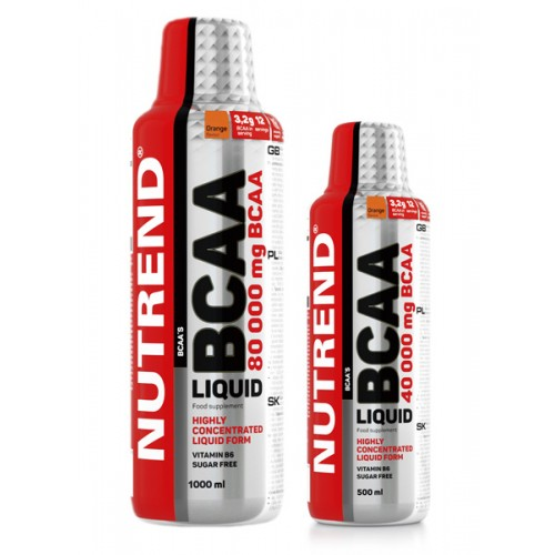 Nutrend BCAA Liquid 1000 ml arba 500 ml