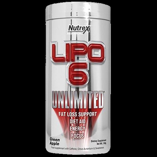 Nutrex Lipo 6 Unlimited 150 g (60 porcijų)