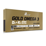 Olimp Gold Omega 3 D3+K2 Sport Edition