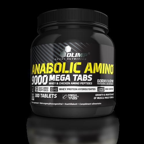Olimp Anabolic Amino 9000 300 tabl. ir dovanos