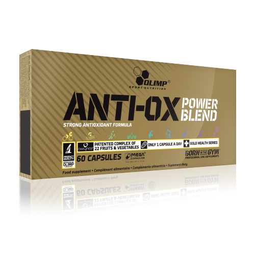 Olimp ANTI-OX power blend™ 60 kaps.