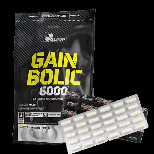 Olimp Gain Bolic 6000 1 kg + dovana!