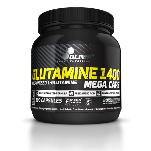 Olimp Glutamine Mega Caps 1400 300 kaps.