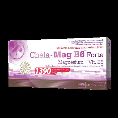 Olimp Chela Mag B6 Forte Mega Caps 60 kaps.