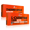 Olimp L-Carnitine ir Thermo Speed Hardcore po 30 kaps.