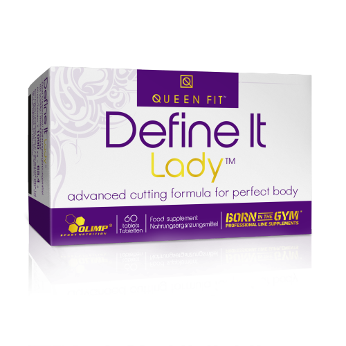 Olimp Queen-Fit Define It Lady 50 tabl.