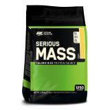 Optimum Nutrition Serious Mass 5400 g ir dovana!