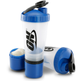 Optimum Nutrition DELUXE 2 Compartment Shaker 700ml