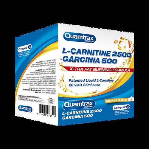 Quamtrax L - Carnitine 2500 + Garcinia 500