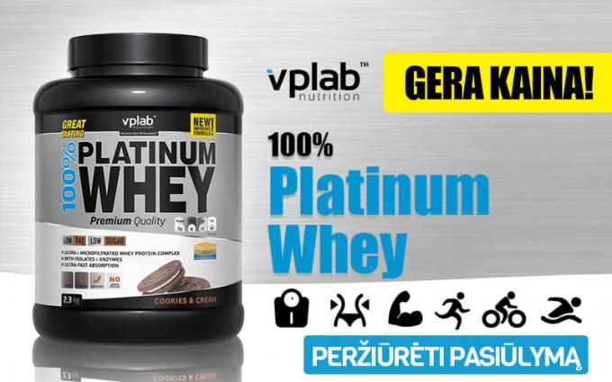 VPLab 100% Platinum Whey išrūgų baltymai