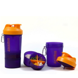 SmartShake Orange/Purple 400 ml.