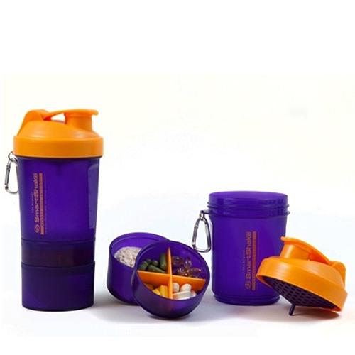 SmartShake Orange/Purple 400 ml.