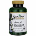 Swanson Acetyl L - carnitine 500 mg 100 kaps.