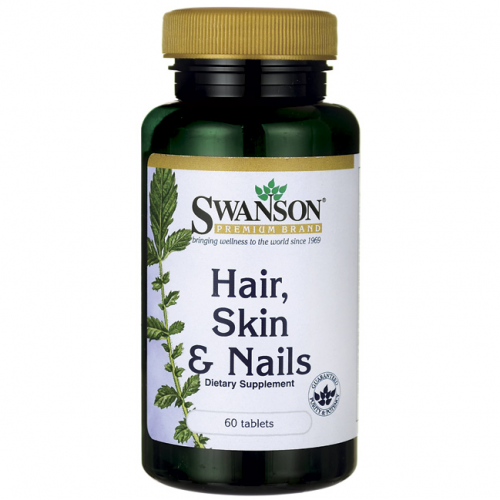 Swanson Hair, Skin & Nails 60 tabl.