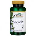 Swanson Acerola ir Natūralus Vitaminas C 60kaps
