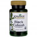 Swanson Black Cohosh (Kekinės juodžolės) 60 kaps.