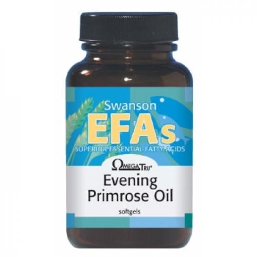 Swanson Evening Primrose Oil 100 kaps (Nakvišų aliejus)