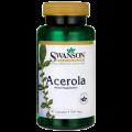 Swanson Acerola (natūralus Vitaminas C) 60 kaps.