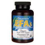 Swanson Linų sėmenų aliejus 1000 mg 100 kaps.