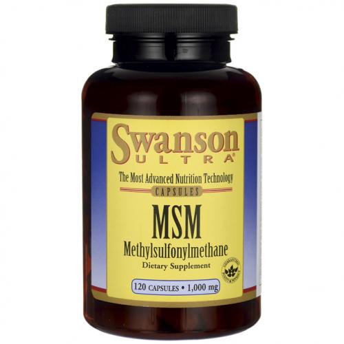 Swanson MSM 120kaps.