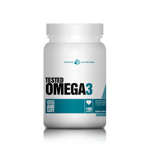 Tested Nutrition Omega-3 100 kaps.