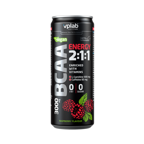 VPLab BCAA Energy 2:1:1 gėrimas 330ml
