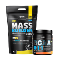 VPLab Mass Builder 5000 g ir VPLab BCAA 8:1:1 300 g dovanų !