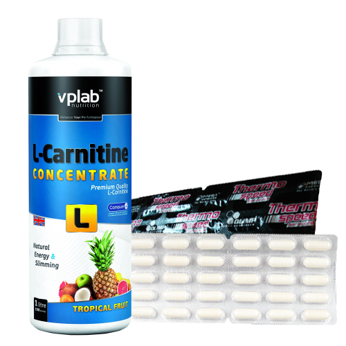 VPLab L-Carnitine Concentrate 1000 ml ir degintojas dovanų!
