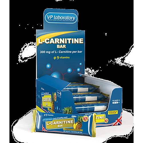VPLab L-Carnitine Bar 45 g (3 vnt.)
