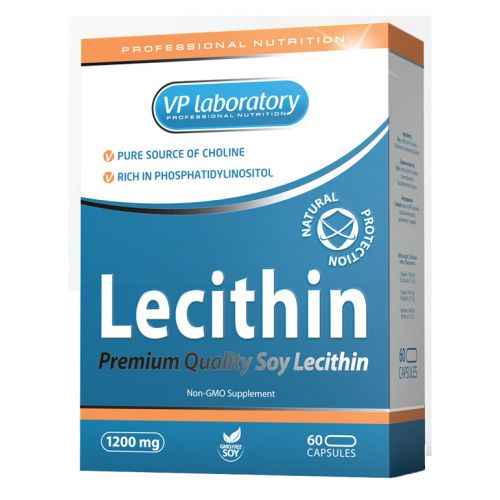 VP laboratory Lecithin 60 kaps.