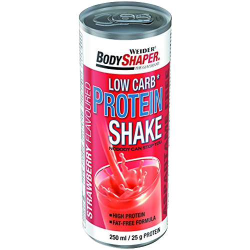 BodyShaper (Weider) Low Carb Protein Shake 2x 250 ml