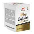 XXL Nutrition Whey Delicious 18 skirtingų skonių!