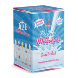 XXL Nutrition Protein MIlkshake sample pack 10x25g