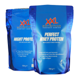 XXL Perfect Whey, Night Protein (išrūgos+kazeinas) ir dovana!