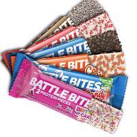 Battle Snacks® Battle Bites Protein Bars 62g
