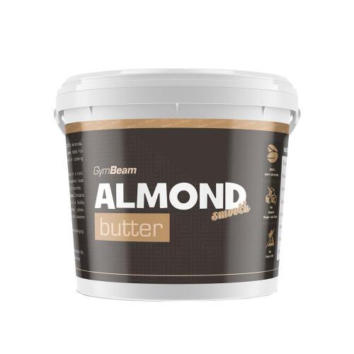 GymBeam Almond migdolų užtepas (100% natūralus)