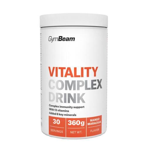 Gymbeam Vitality Complex Drink 360g