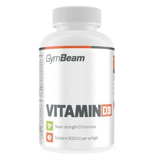 GymBeam Vitaminas D3 2000 IU