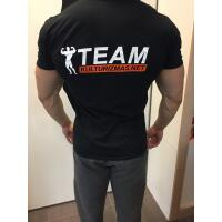 Team Kulturizmas.net marškinėliai juodi